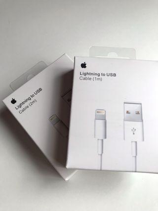 Cable Original Lightning iPhone 2METROS PRECINTADO