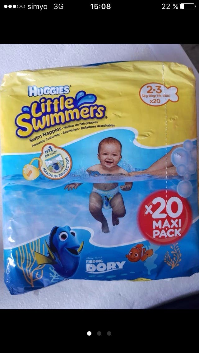 b7a63808f Pañal bañador bebé natación de segunda mano por 5 € en Madrid en ...