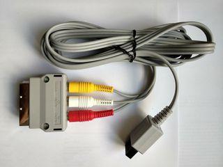 Cables conexión Nintendo Wii