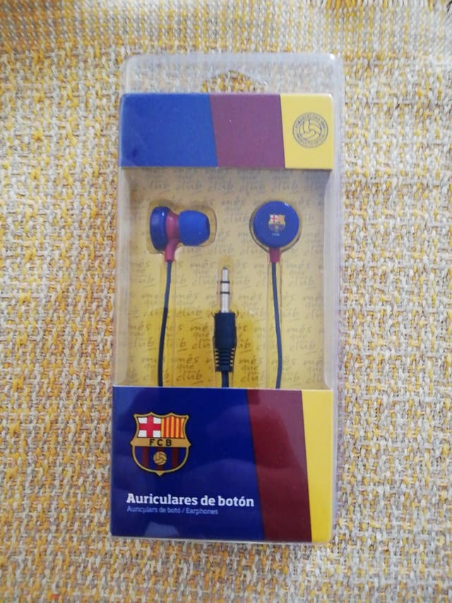 auriculares FC Barcelona original
