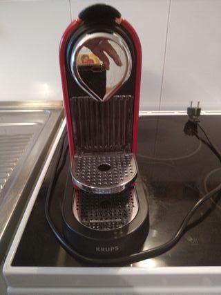 Máquina cafe Nespresso krups