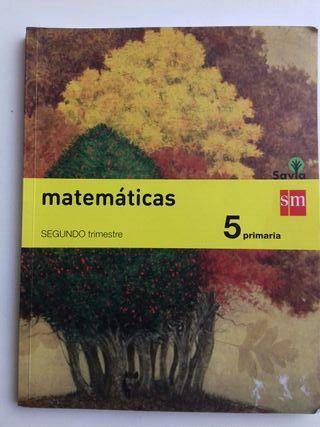 Matemáticas 5 primaria SM
