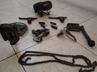 kit de transmision y freno de bicicleta