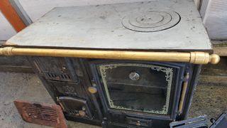 estufa de carbón