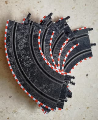 9 curvas normales scalextric compact