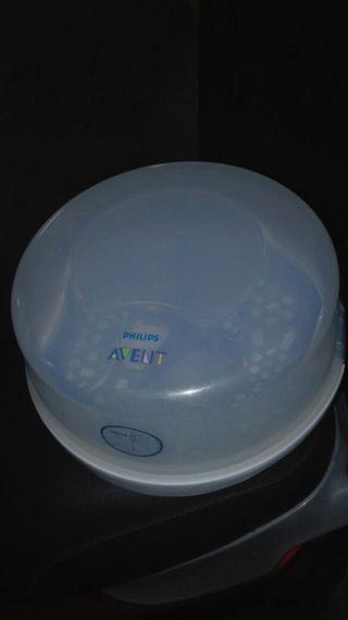 Esterilizador de biberones para microondas