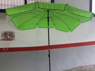 parasol jardin rectangular inclinable