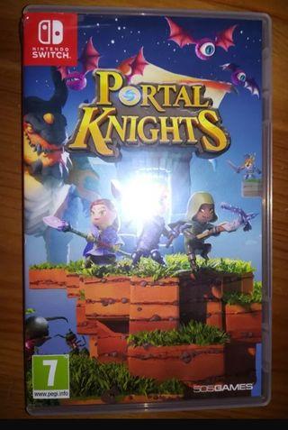 Carátula Juego Portal Knights Nintendo Switch