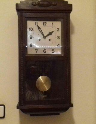 Barcelona Pared Reloj De Wallapop Con Pendulo Segunda En Mano WI9eD2bEHY