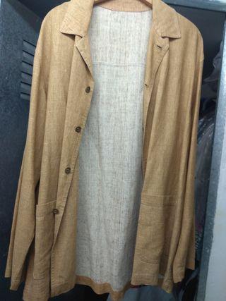 8a05905dda5d9 Americana hombre de lino de segunda mano en Madrid en WALLAPOP