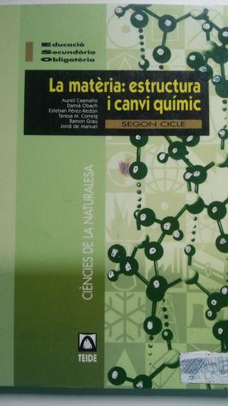 La matèria: estructura i canvi químic TEIDE