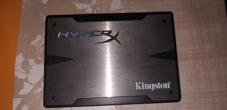 disco duro interno Kingston hyperx 120 gb