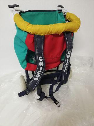 mochila portabebe espalda