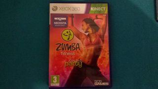 Juego Zumba Fitness Xbox Kinec
