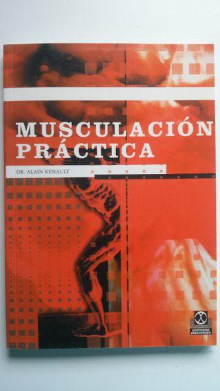 """Libro deportivo """"Musculación práctica"""" PAIDOTRIBO"""