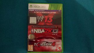 Juegos deporte Kinect Xbox 360