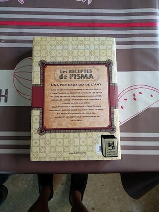 Libro de recetas de l'isma