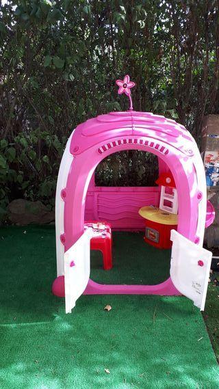 casa de niños para jardín