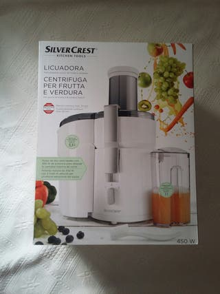 Licuadora para frutas Silver Crest