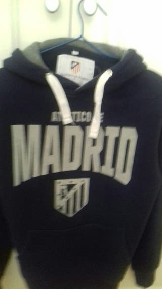 Sudadera At. Madrid. Talla S.