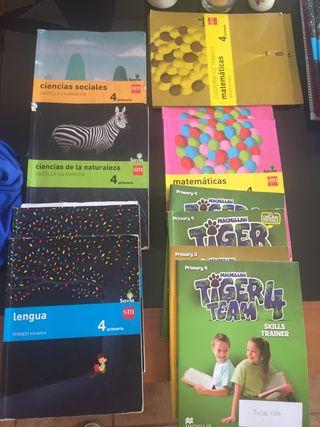 Libros 4 primaria ed am