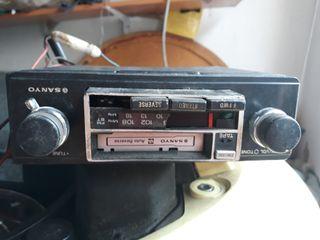 radio coche antigua