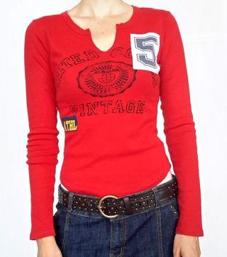 Camiseta Roja Benetton