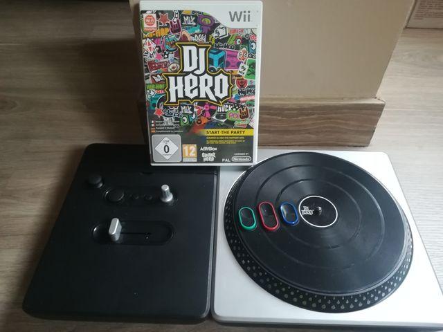 Dj Hero Juego Y Mesa Mezclas Para Wii De Segunda Mano Por 30 En
