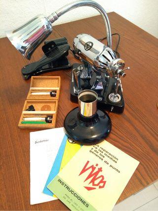 Maquina de puntos de medias vintage