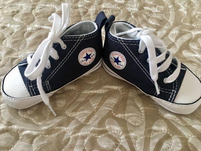 072aa1b4e Converse all stars bebe talla 19 de segunda mano por 19
