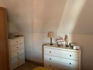 Muebles dormitorio. Cómoda. Sinfonier. Mesillas. Cabecero