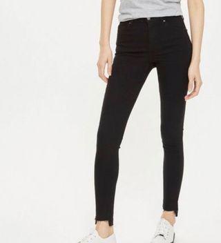 Women's Topshop Black Skinny Jamie Jeans