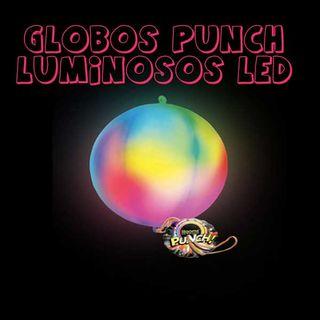 1 globo punch luminosos