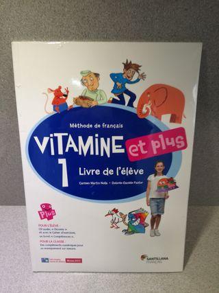Vitamine et plus 1 Eleve + CD + CD Dictionnaire
