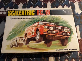 Scalextric RC-19 sin coches