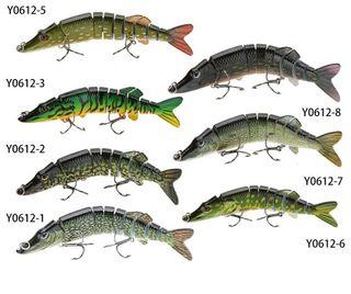 señuelos de pesca swimbait lucio