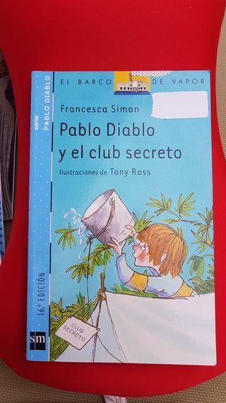 Libro Pablo Diablo y el club secreto