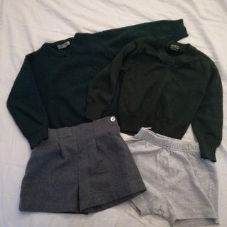 Ropa uniforme escolar