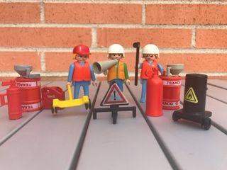 Playmobil operarios