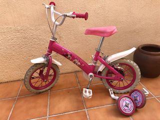 """Bicicleta niña Disney 12"""""""