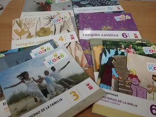 Libros Religión Católica Primaria