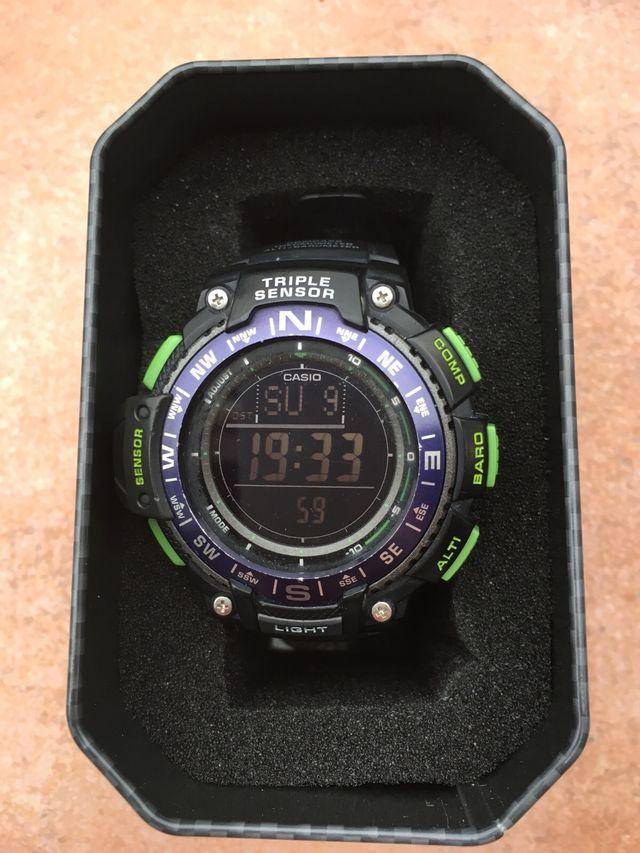 37bb044833b6 Reloj Casio SGW 1000 altimetro barometro brujula de segunda mano por ...