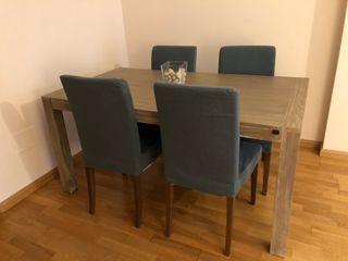 Mesa Salón + Sillas