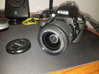 Nikon d5300 + 18-55mm nikkor