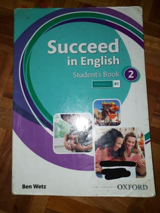 Libro escolar ingles de segundo de Eso