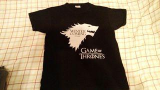 "Camiseta ""juego de tronos""."