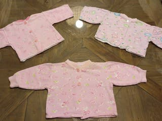 Pijama bebe 0-3 meses franela, parte de arriba