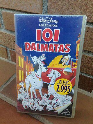 VHS 101 Dalmatas precintado
