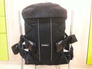 mochila portabebes Babybjorn one negra