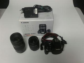 Canon 450d más objetivos
